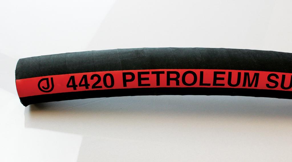 150 Psi 1.14 OD Black Jason Industrial 4420-0075-100 3//4 Nitrile Petroleum Suction Hose 100 Length